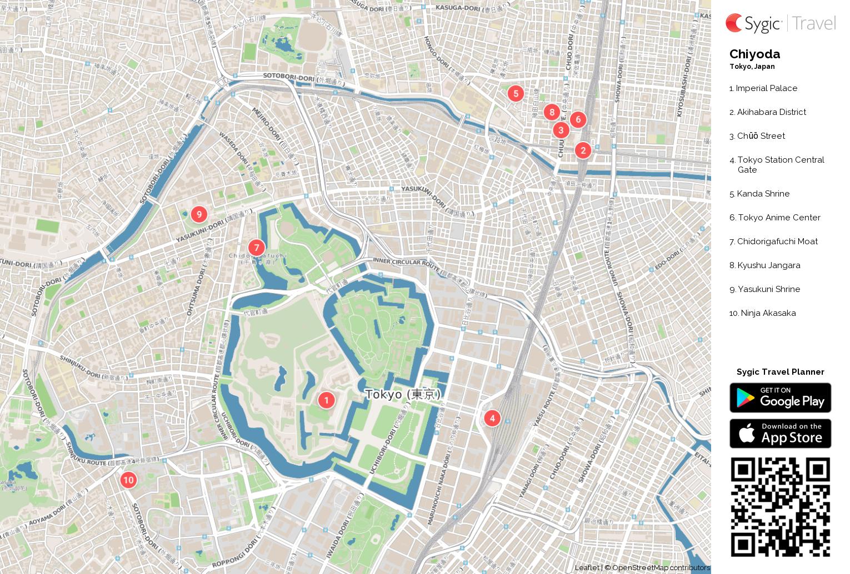 chiyoda-printable-tourist-map