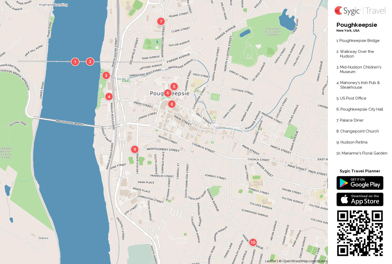 poughkeepsie-printable-tourist-map