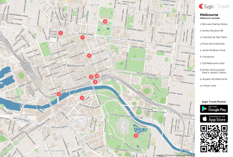 Melbourne Map Pdf