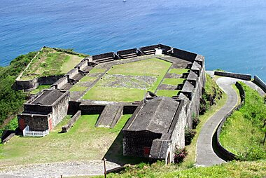What to see in saint kitts and nevis sygic travel brimstone hill fortress national park publicscrutiny Images