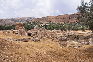 Antiker ort auf kreta
