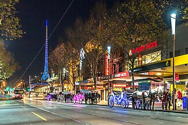 Image result for Swanston Street shopping
