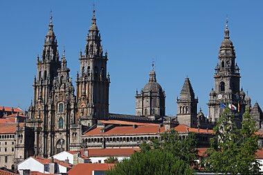Santiago de Compostela Printable Tourist Map Sygic Travel
