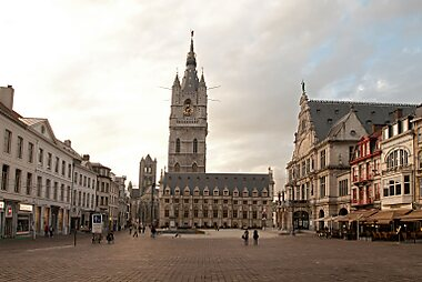 Ghent Printable Tourist Map | Sygic Travel