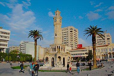 Izmir Printable Tourist Map Sygic Travel