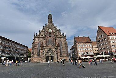 Nuremberg Printable Tourist Map Sygic Travel