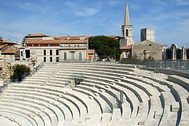 Arles Printable Tourist Map Sygic Travel