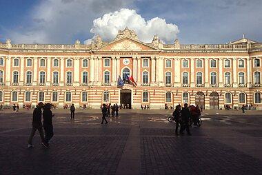 Toulouse Printable Tourist Map Sygic Travel
