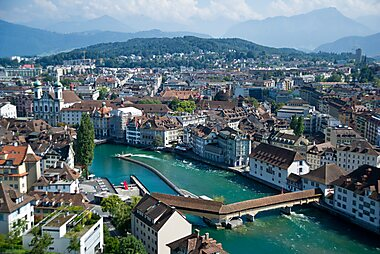 Lucerne Printable Tourist Map Sygic Travel