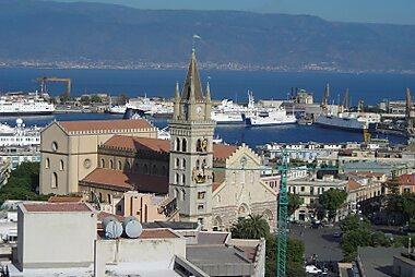 Messina Printable Tourist Map Sygic Travel