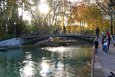 Annecy Printable Tourist Map Sygic Travel