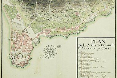 Ajaccio Printable Tourist Map Sygic Travel