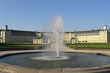 Karlsruhe Printable Tourist Map Sygic Travel