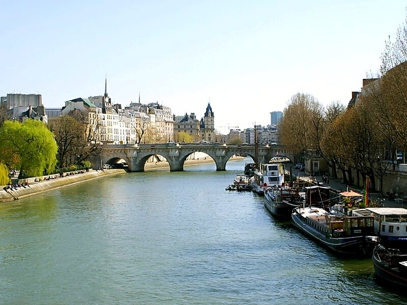 seine river in paris france sygic travel