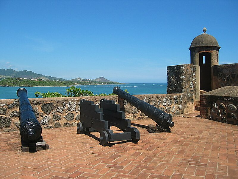 Fort San Felipe Local Namefortaleza De Locationpuerto Plata Dominican Republic