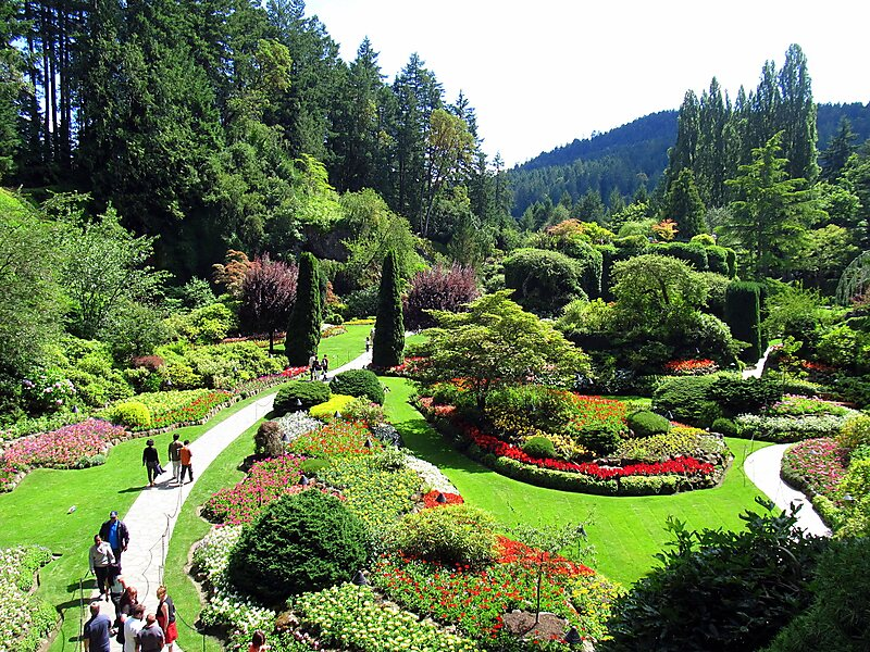 The Butchart Gardens In Central Saanich Canada Sygic Travel