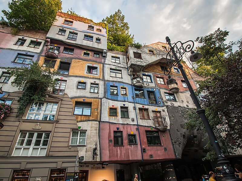 Hundertwasser House In Vienna Austria Sygic Travel