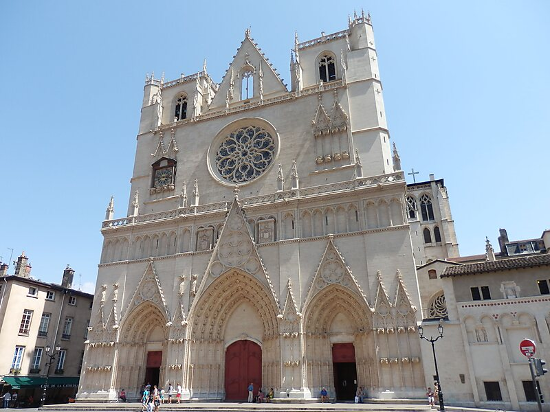 Lyon Cathedral in Lyon 5e Arrondissement, France | Sygic Travel