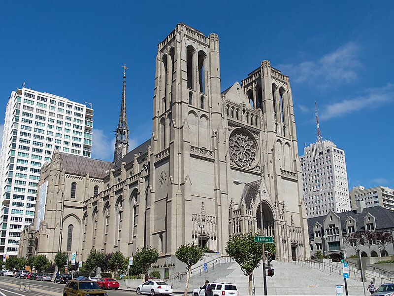 Grace Cathedral in San Francisco, USA | Sygic Travel