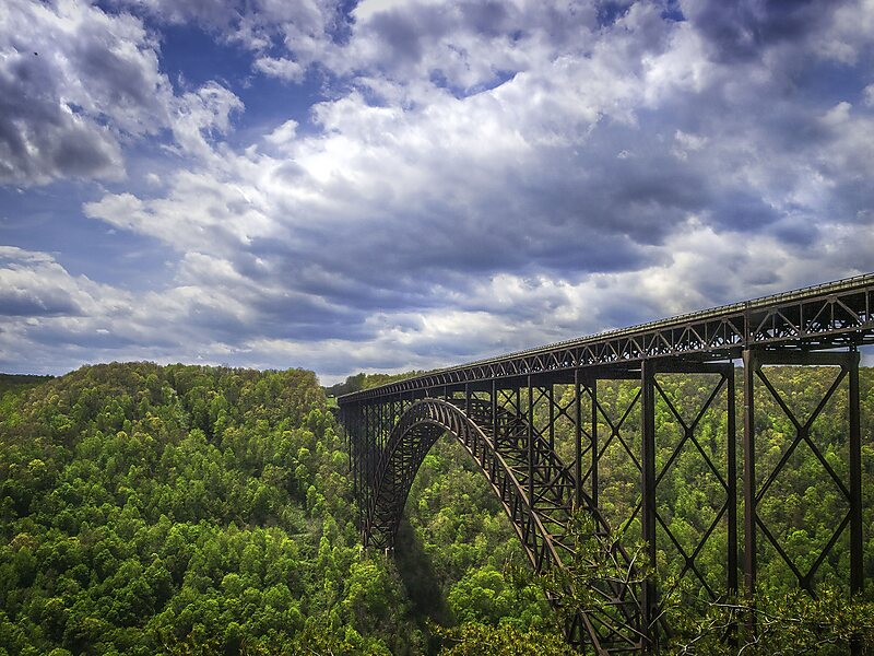 New river gorge bridge in west virginia usa sygic travel for West virginia department of motor vehicles phone number