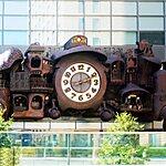 Studio Ghibli Large Clock Tokyo, Japan
