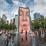 Crown Fountain Chicago, USA