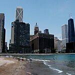 Ohio Street Beach Chicago, USA