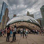 Cloud Gate (The Bean) Chicago, USA
