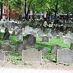 Granary Burying Ground Boston, USA