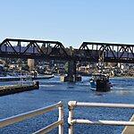 Ballard Locks and Ship Canal Seattle, USA