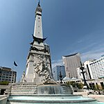 Soldiers and Sailors Monument Indianapolis, USA