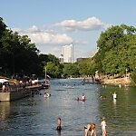 Barton Springs Pool Austin, Texas, USA