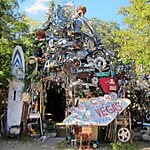 The Cathedral of Junk Austin, Texas, USA