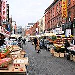 Moore Street Market Dublin, Ireland