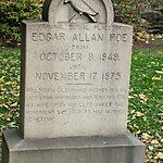 Edgar Allan Poe's Grave Site and Memorial Baltimore, USA