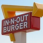 In-N-Out Burger Los Angeles, USA