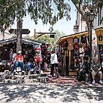 Olvera Street Los Angeles, USA