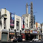 Pantages Theater Los Angeles, USA