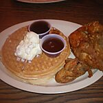 Roscoes's chicken Los Angeles, USA