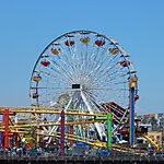 Santa Monica Pier Los Angeles, USA