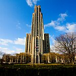 Cathedral of Learning Pittsburgh, USA