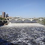 St. Anthony Falls Minneapolis, USA