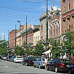 Larimer Square Denver, USA