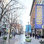 16th Street Mall - Pedestrian Mall Denver, USA