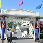 Oaks Amusement Park Portland, Oregon, USA