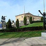 The Rocky Statue Philadelphia, USA