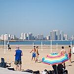 Montrose Avenue Beach Chicago, USA