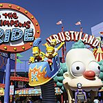 The Simpsons Ride Los Angeles, USA