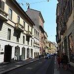 Via Montenapoleone Milan, Italy