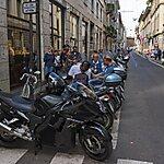 Via Sant'Andrea Milan, Italy